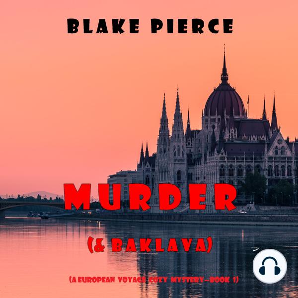 Murder and Baklava with headphones